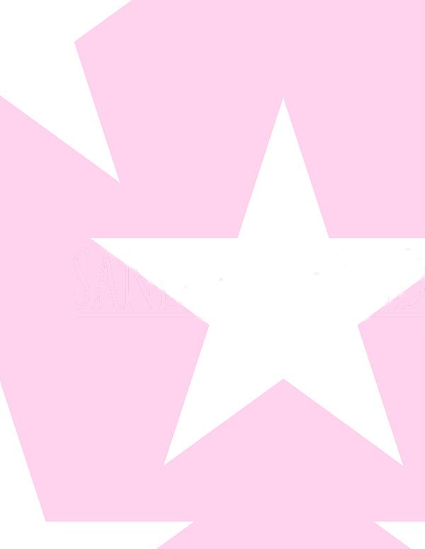 Betere Goedkoop behang Meisjeskamers Sanders & 935255 Roze met witte EH-97