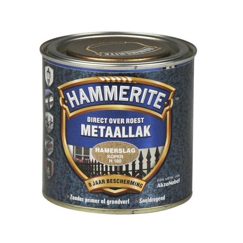 Hammerite Hamerslag 250 ml H180 koper 250ml | www ...