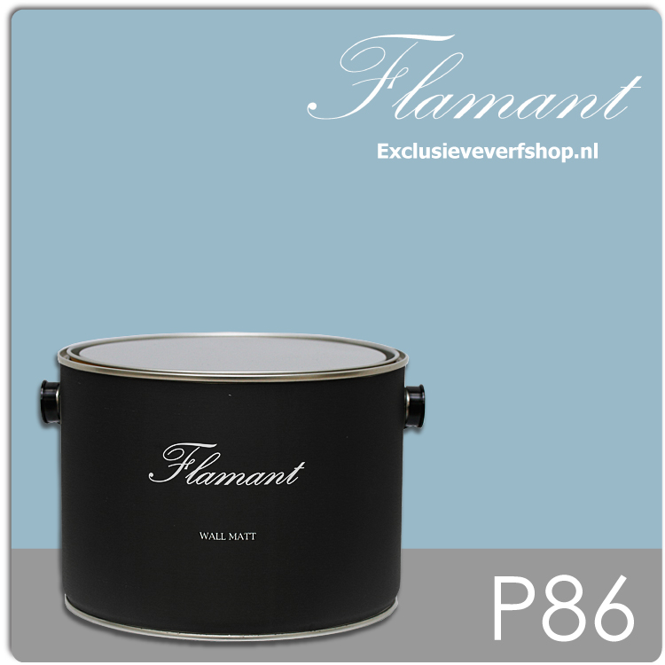 flamant-wall-matt-25-liter-p86-bleu-cap-ferrat