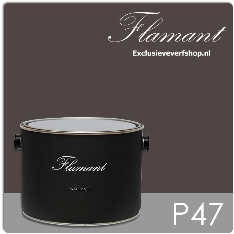 flamant-wall-matt-25-liter-p47-chocolat