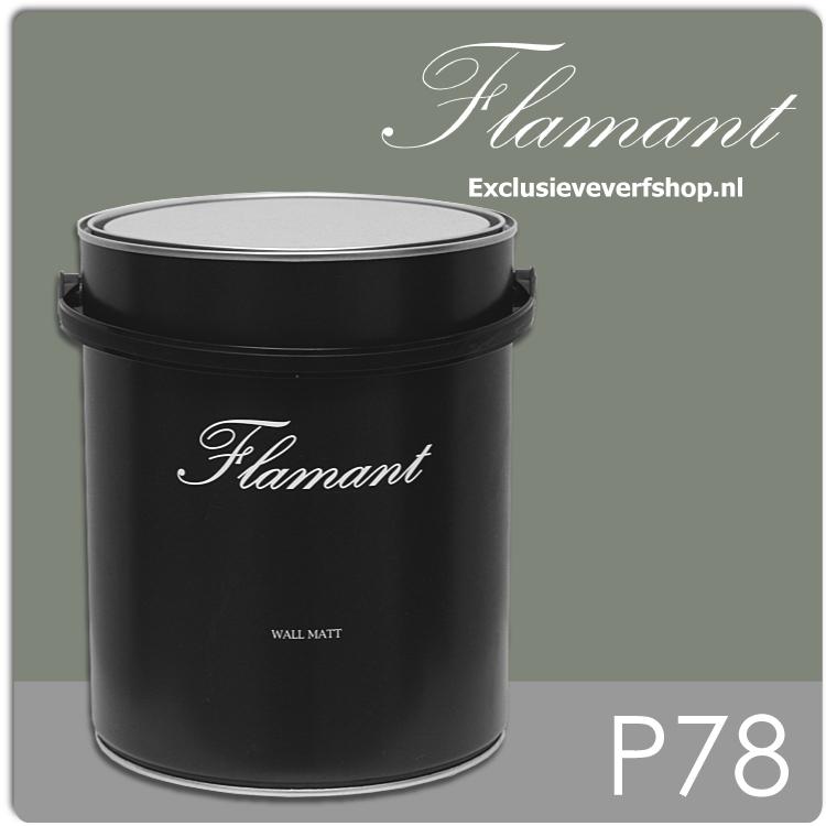 flamant-wall-matt-5-liter-p78-vert-de-gris