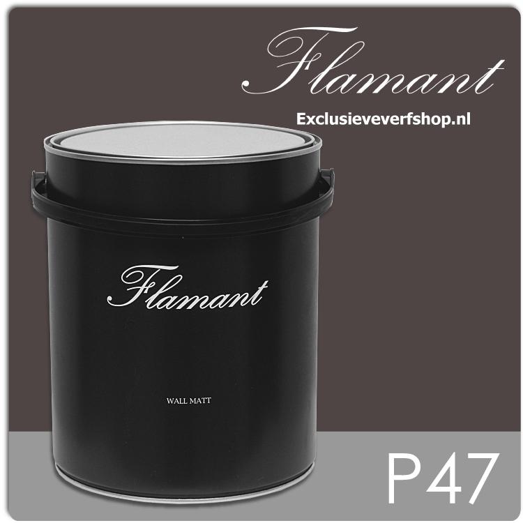 flamant-wall-matt-5-liter-p47-chocolat